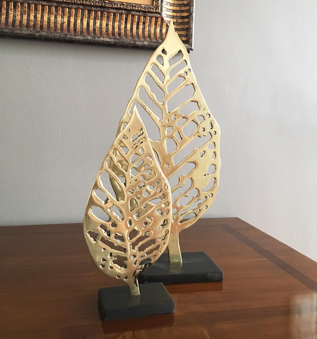 hojas-en-platina-de-bronce